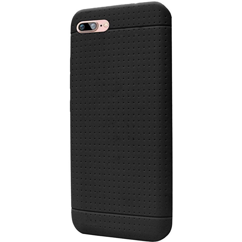 Apple iPhone 8 Plus -  Silicone Case, Black