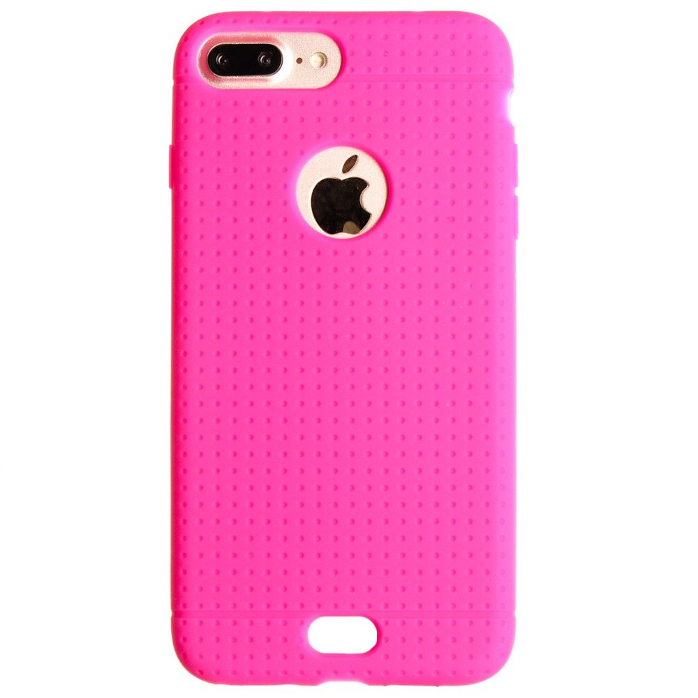 Apple iPhone 8 Plus -  Silicone Case, Hot Pink