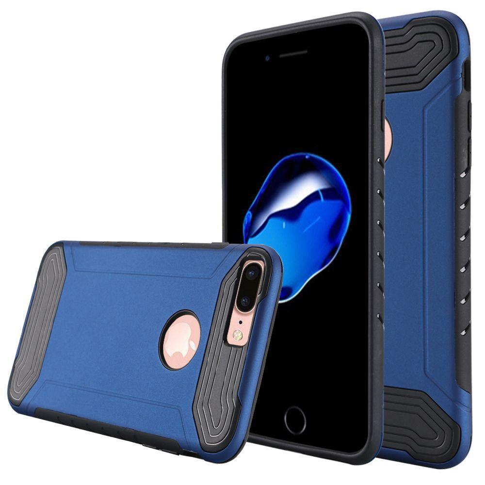 Apple iPhone 8 Plus -  Quantum Dual Layer Rugged Case, Blue/Black