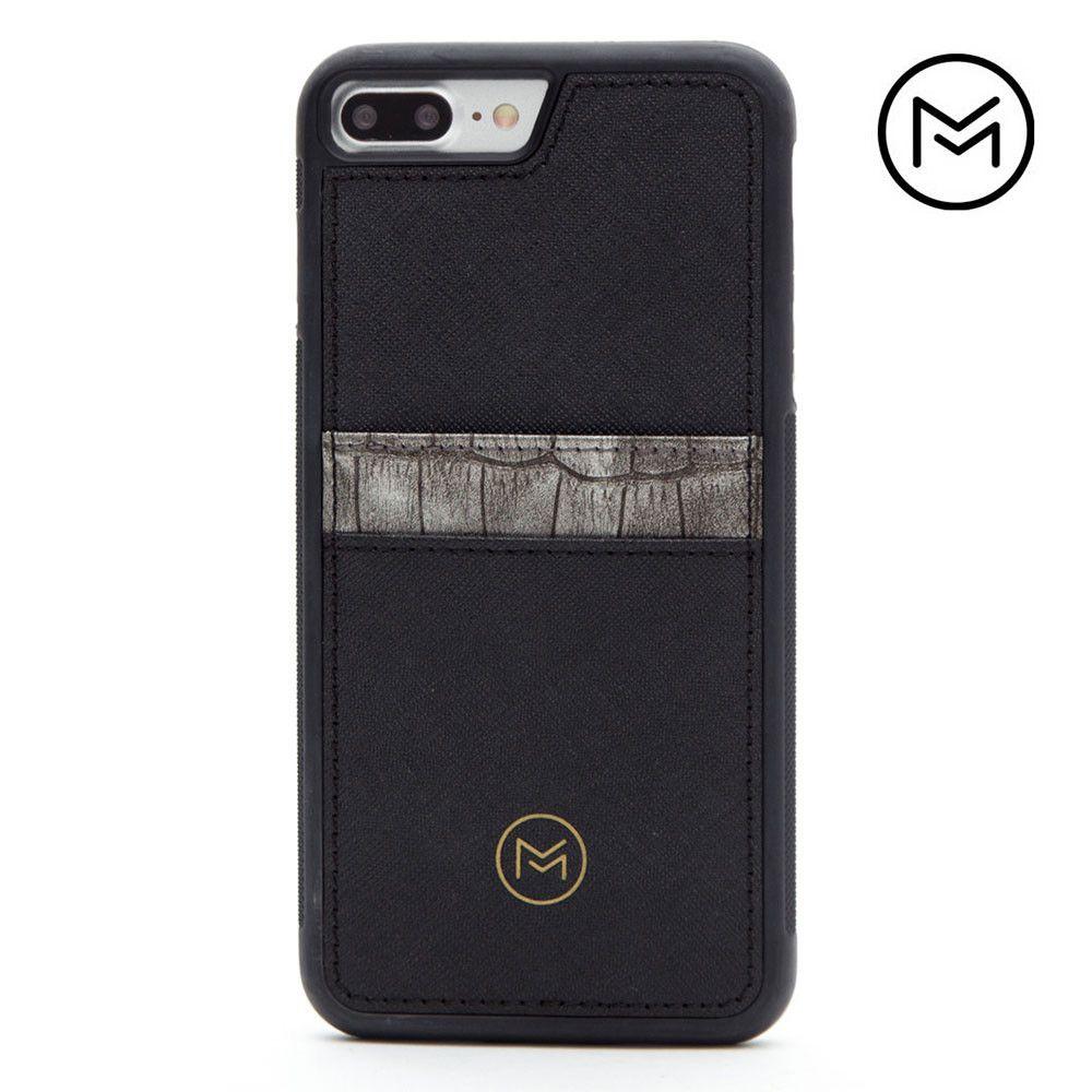 Apple iPhone 8 Plus -  Limited Edition Mobovida Acacia Card Case, Slate/Black