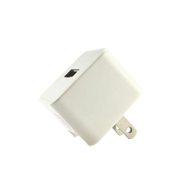 Apple iPhone 8 Plus -  USB Home/Travel Power Adapter (, 1000 mAh), White