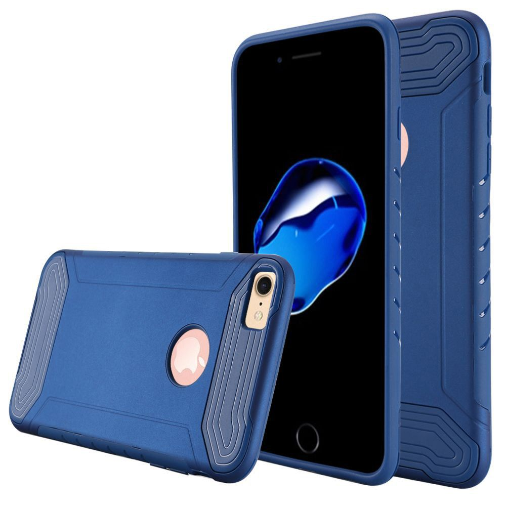 Apple iPhone 8 -  Quantum Dual Layer Rugged Case, Blue
