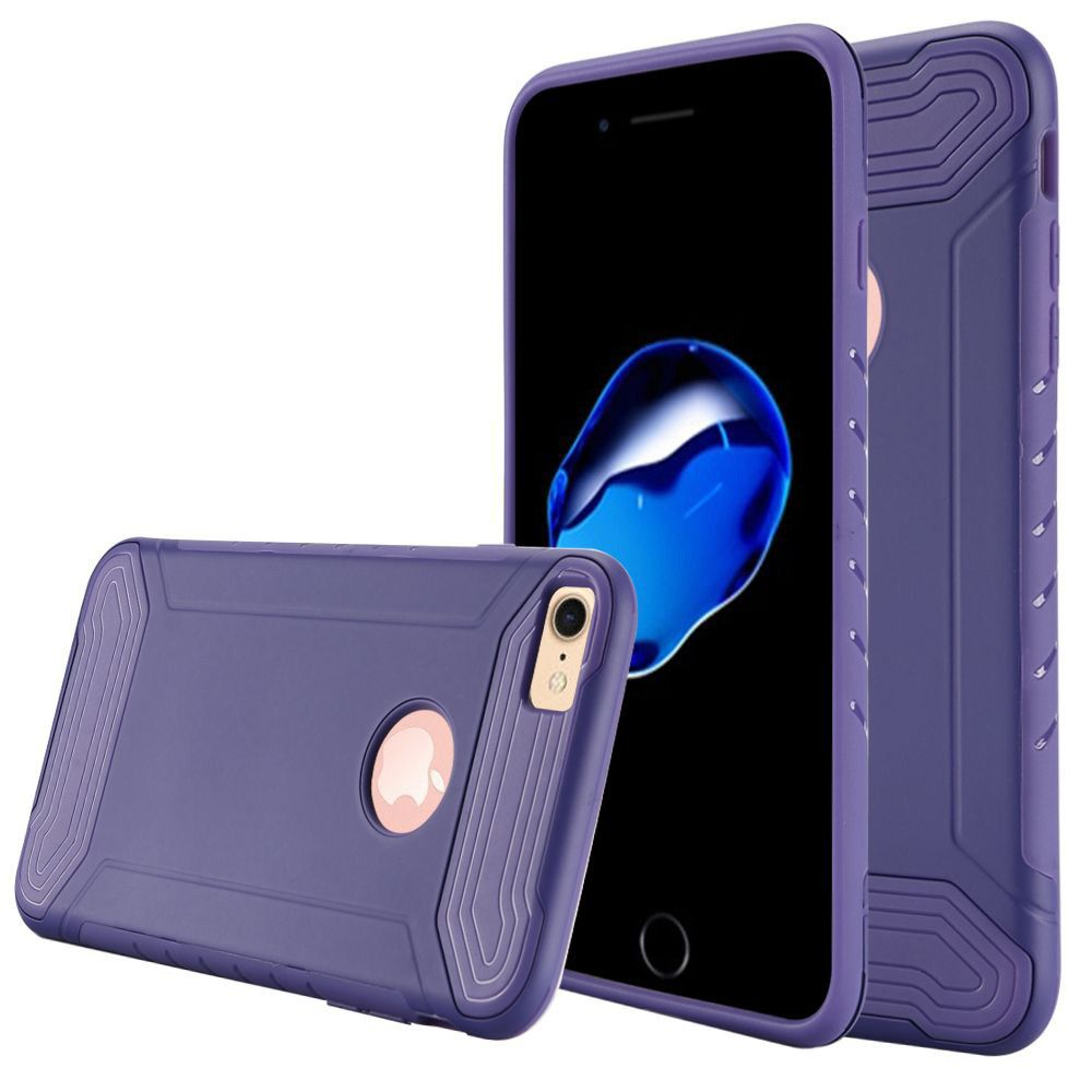 Apple iPhone 8 -  Quantum Dual Layer Rugged Case, Purple