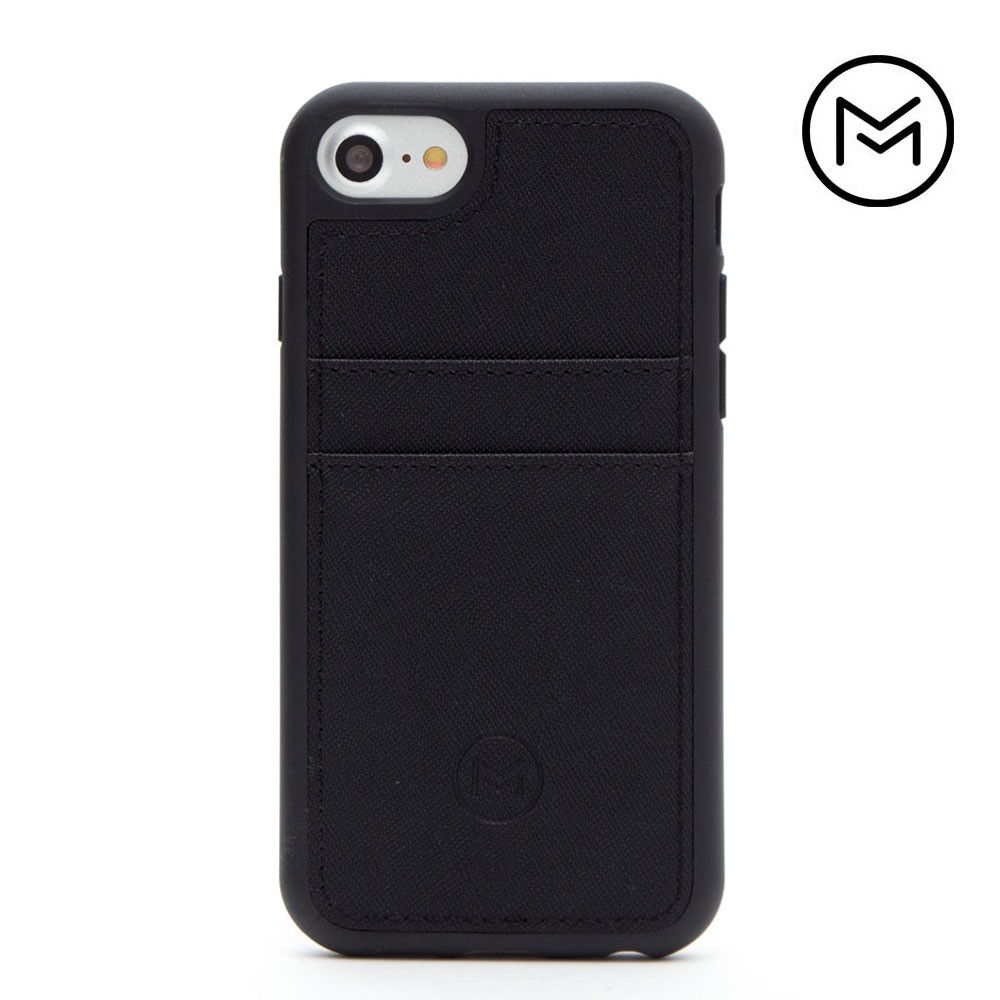 Apple iPhone 8 -  Limited Edition Mobovida Acacia Card Case, Matte Black