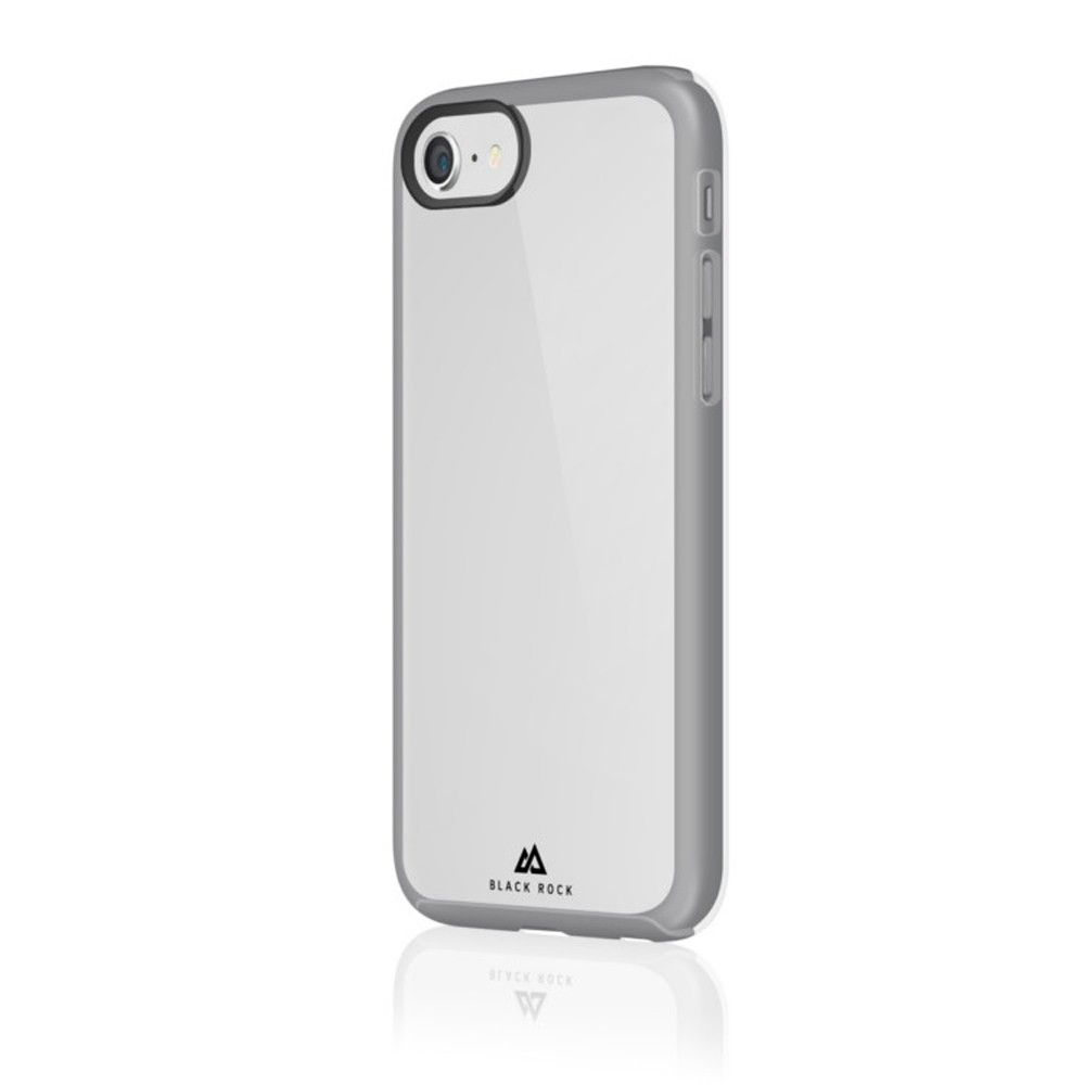 Apple iPhone 7 - Original Black Rock Embedded Phone Case, Clear/Gray