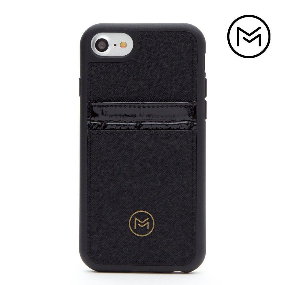 Apple iPhone 7 -  Limited Edition Mobovida Acacia Card Case, Jet Black