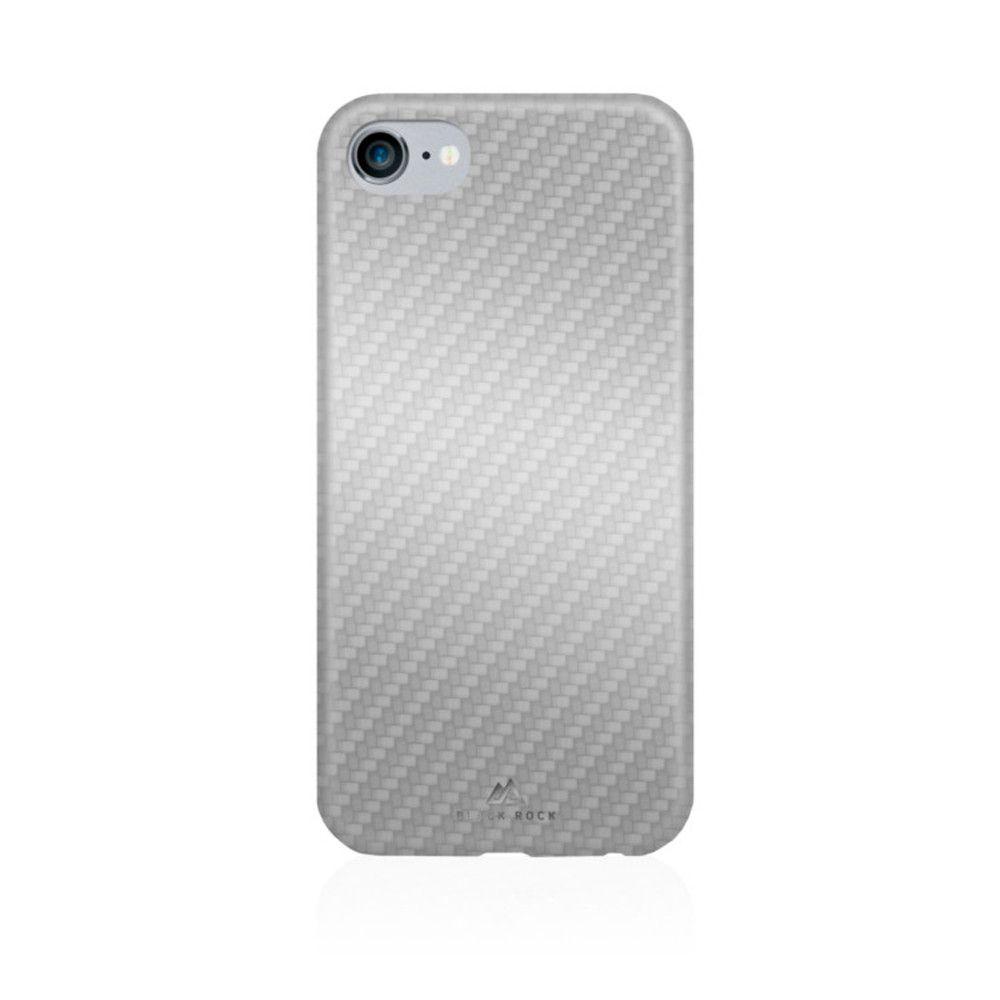 Apple iPhone 7 - Original Black Rock Flex Carbon Phone Case, Silver