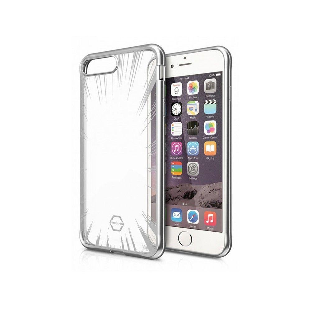 Apple iPhone 7 - Original ITSKINS Art Gel Phone Case, Silver