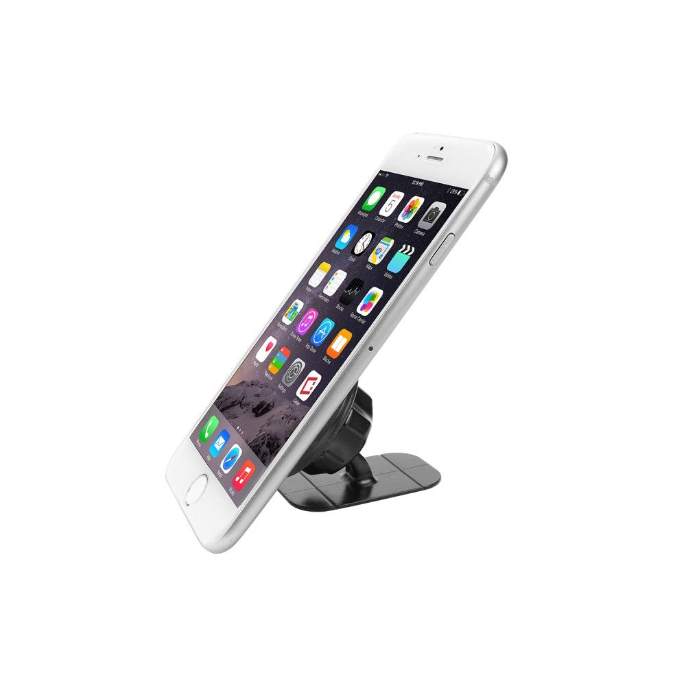 Apple iPhone 7 -  Compact Magnetic Quick-Snap Car Dashboard Holder for Smartphones, Black