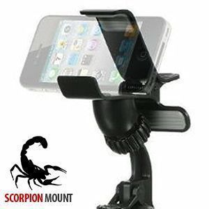 Apple iPhone 7 -  Scorpion Holder, Black