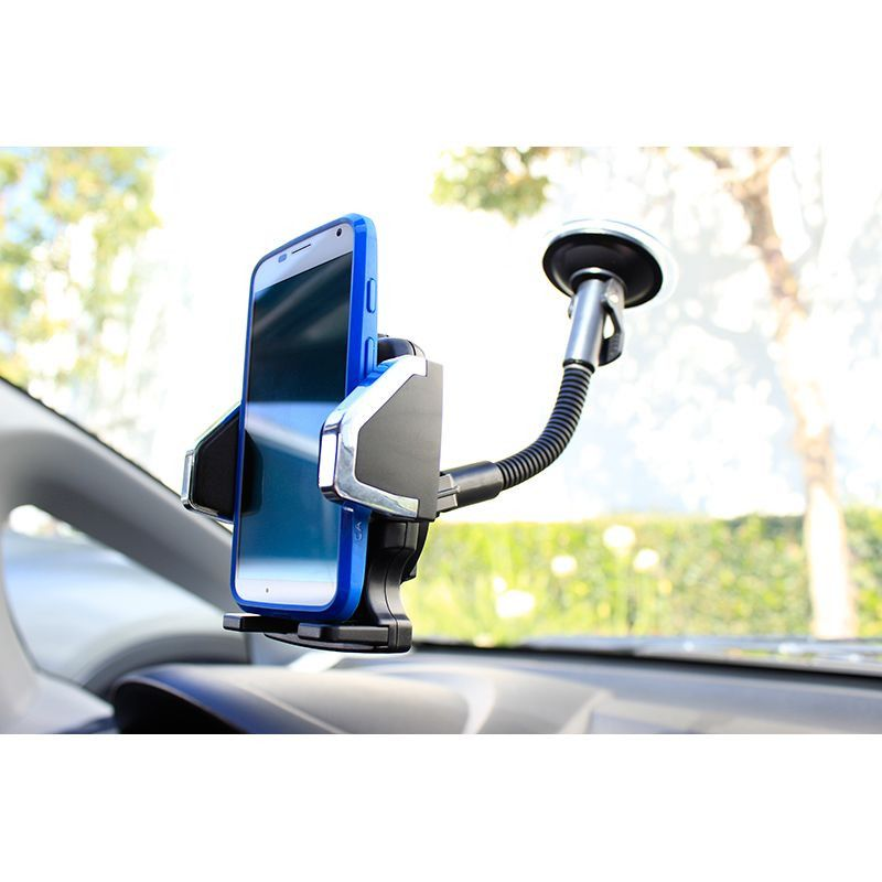 Apple iPhone 8 -  Window Mount Phone Holder, Black