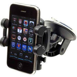 Apple iPhone 8 -  Windshield Car Holder, Black