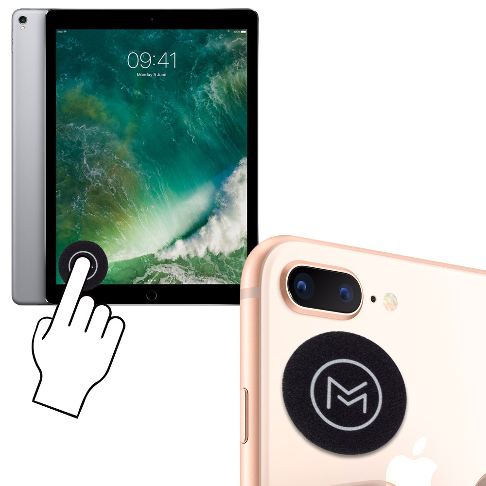 Apple iPhone 8 -  Mobovida Re-usable Stick-on Screen Cleaner
