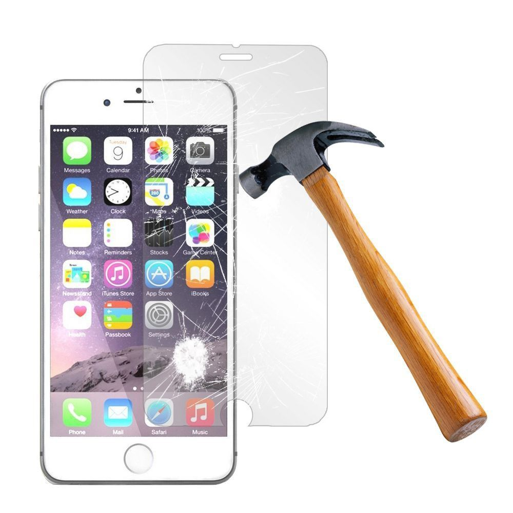 Apple iPhone 8 -  Tempered Glass Screen Protector, Clear