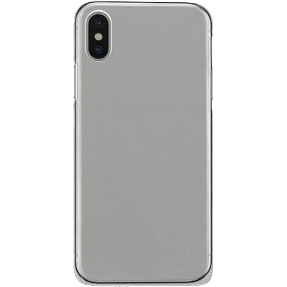 Apple iPhone X -  Ultra Slim Fit Hard Plastic Case, Clear