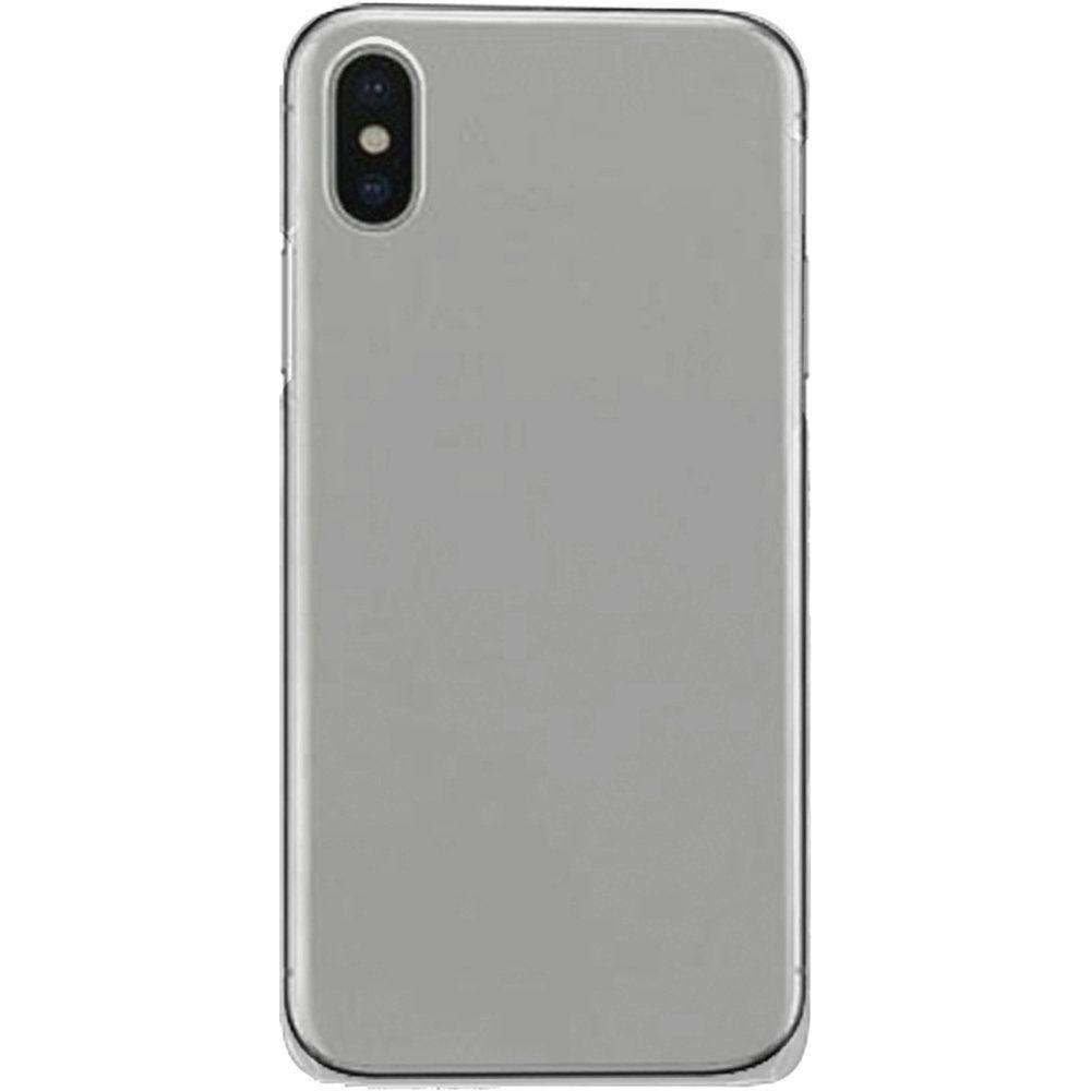 Apple iPhone X -  Ultra Slim Fit Hard Plastic Case, Clear