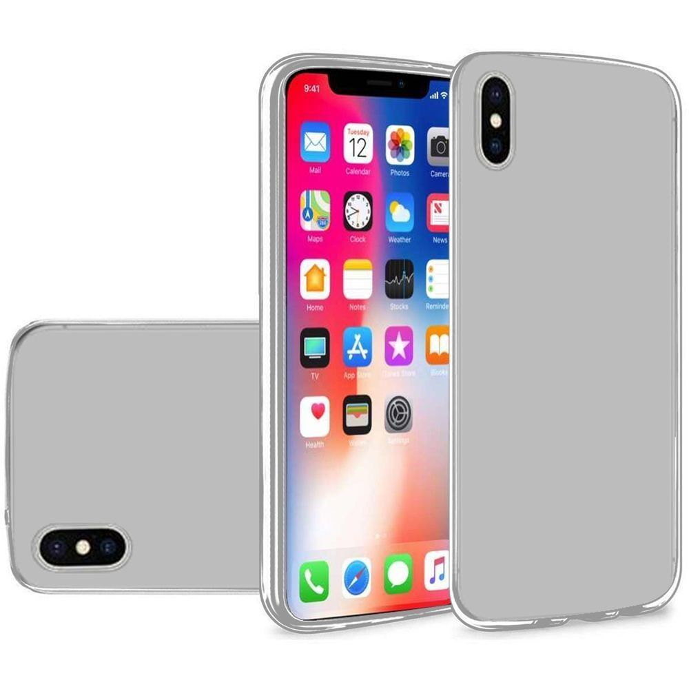 Apple iPhone X -  Frosted TPU Case, Clear