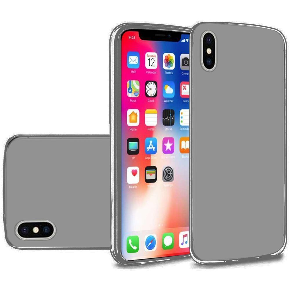 Apple iPhone X -  Frosted TPU Case, Smoke
