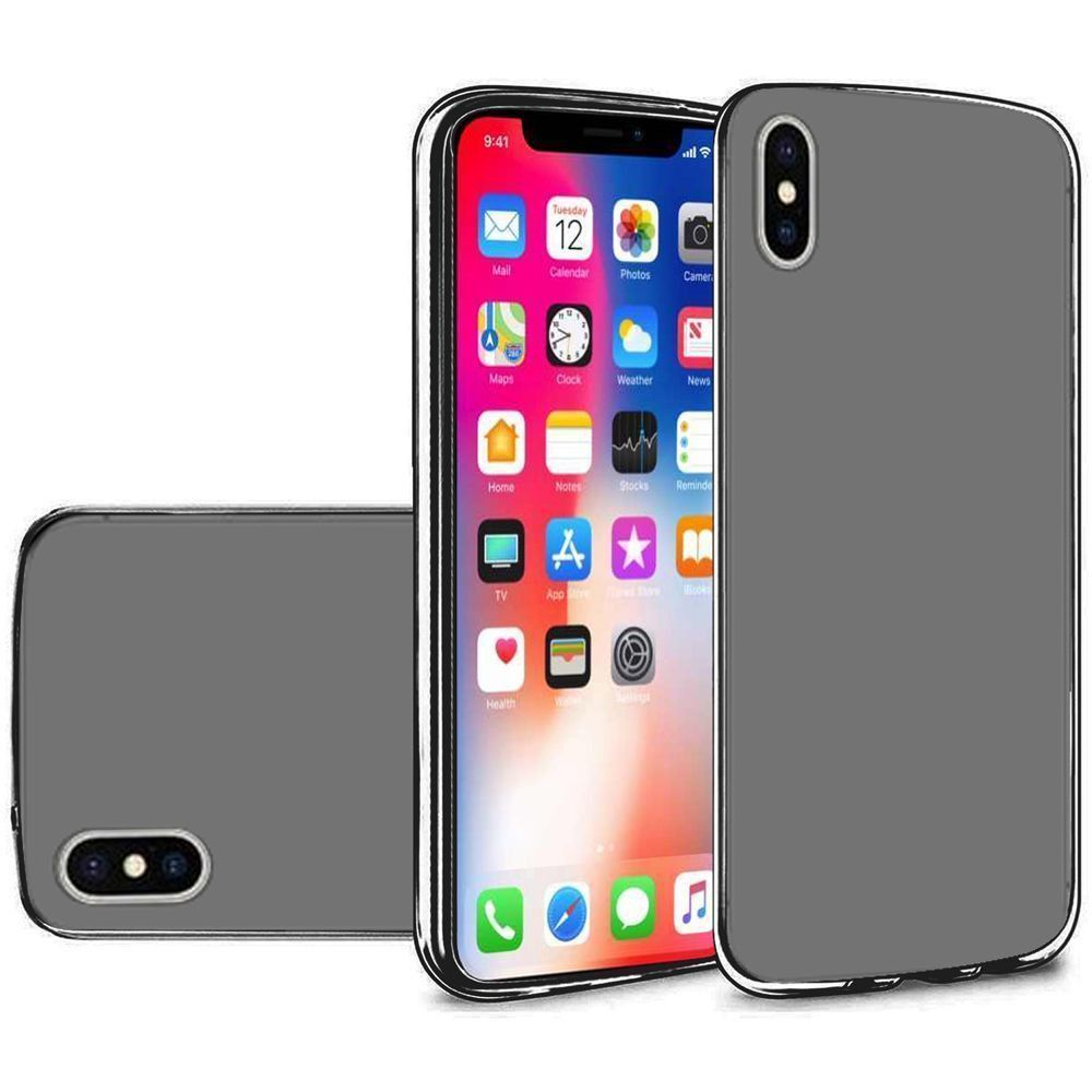 Apple iPhone X -  Frosted TPU Case, Black