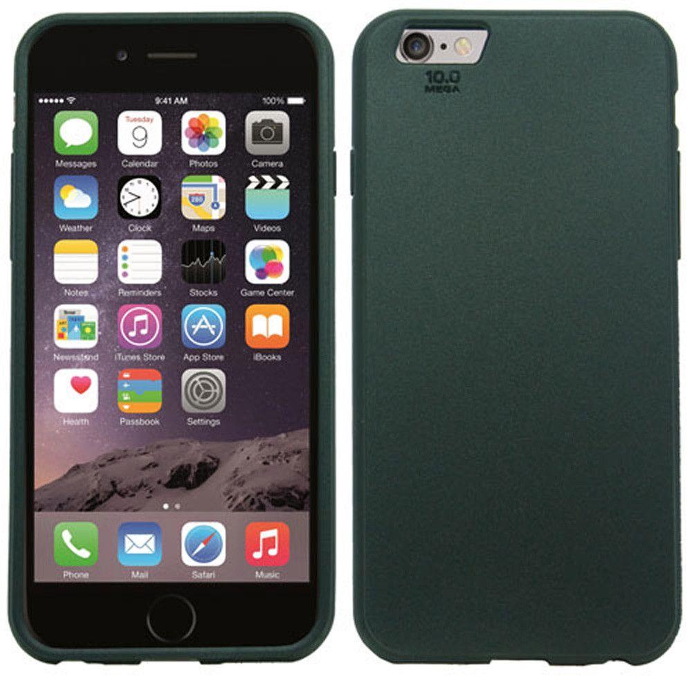 Apple iPhone 6/6s - Crystal Protector Slim Fit Hard Plastic Case, Black