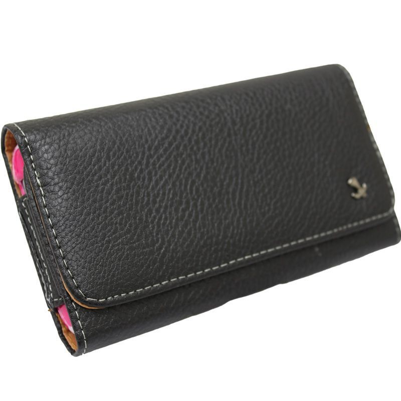 Apple iPhone 6 -  LUXMO EXEC Series Hand-Crafted Horizontal Leather Case with Belt Clip, Black