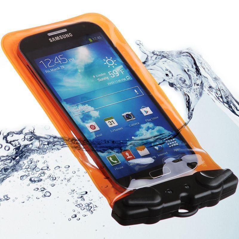 Apple iPhone 6 -  Splash Guardz Waterproof Case with Lanyard, Orange
