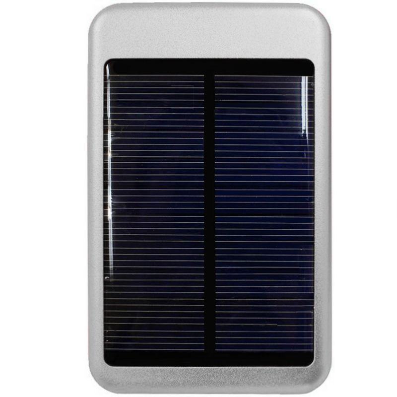 Apple iPhone 6 -  Solar Powered 6000 T-Pocket Portable Phone Battery (5000 mAh), Silver