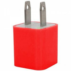 Apple iPhone 6 -  Ultra-Compact USB Travel Charger Adapter, Red
