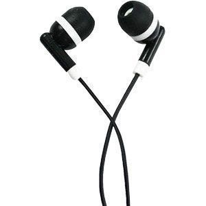 Sound Vector 3.5mm Stereo Headset, Black w/White Accents