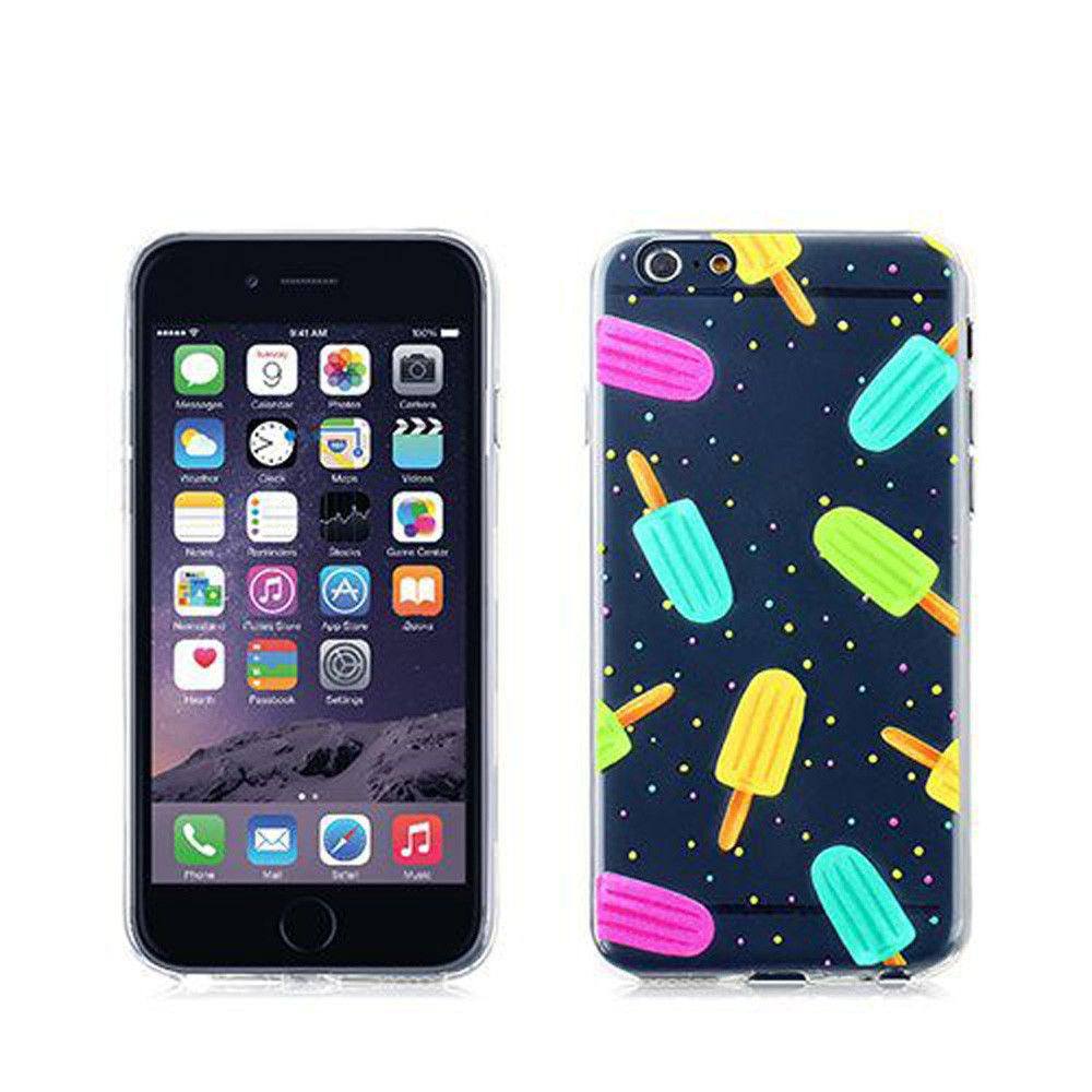 Apple iPhone 6 Plus -  Ice Bar Design TPU Case, Multi-Color