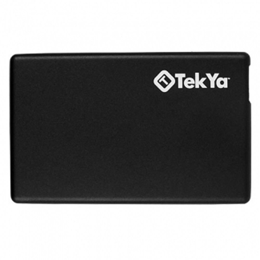 Apple iPhone X -  TEKYA Power Pocket Portable Battery Pack 2300 mAh, Black