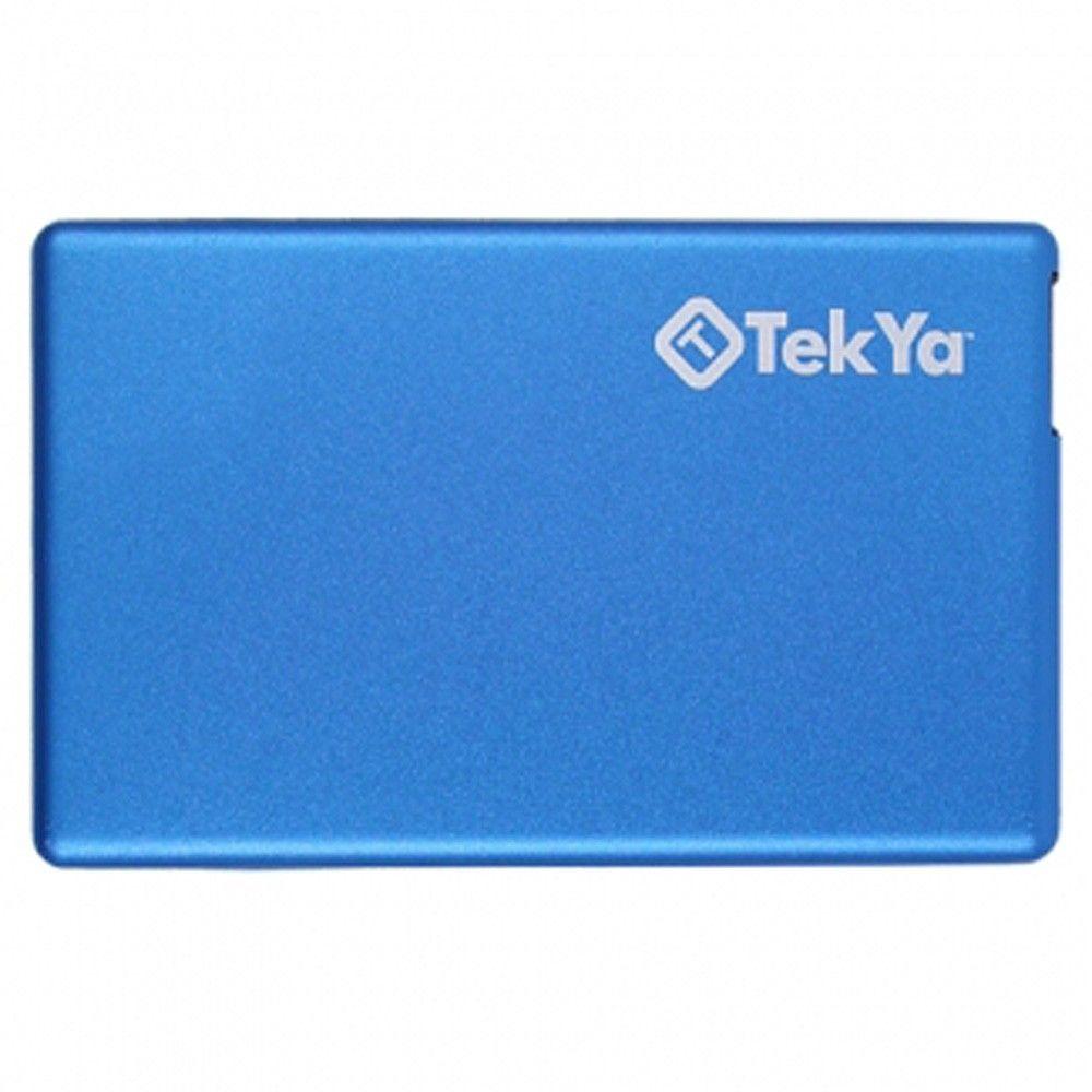 Apple iPhone X -  TEKYA Power Pocket Portable Battery Pack 2300 mAh, Blue