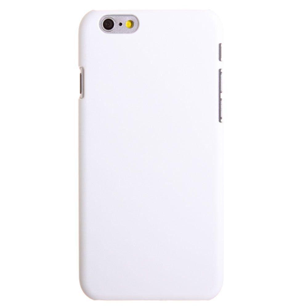 Apple iPhone 6 Plus -  Ultra Slim Fit Hard Plastic Case, White