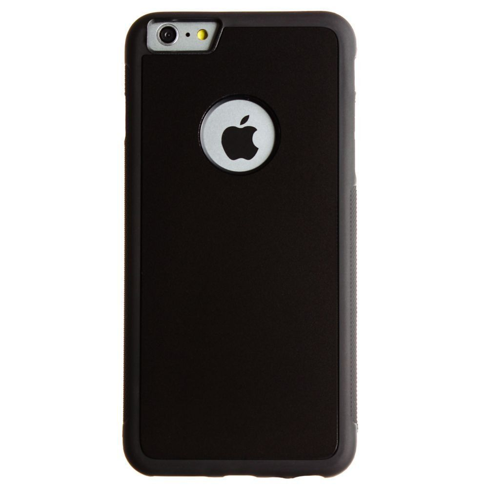 Apple iPhone 6 Plus -  Anti-Gravity Nano-Sunction Case - Perfect for taking hand-free selfies & watching videos on-the-go, Black