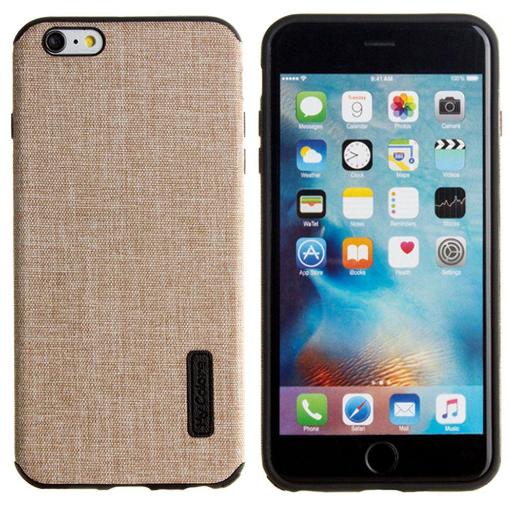 Apple iPhone 6 Plus -  Ultra Slim Fabric design case, Khaki