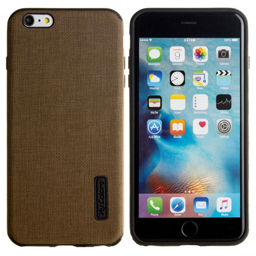 Apple iPhone 6 Plus -  Ultra Slim Fabric design case, Olive