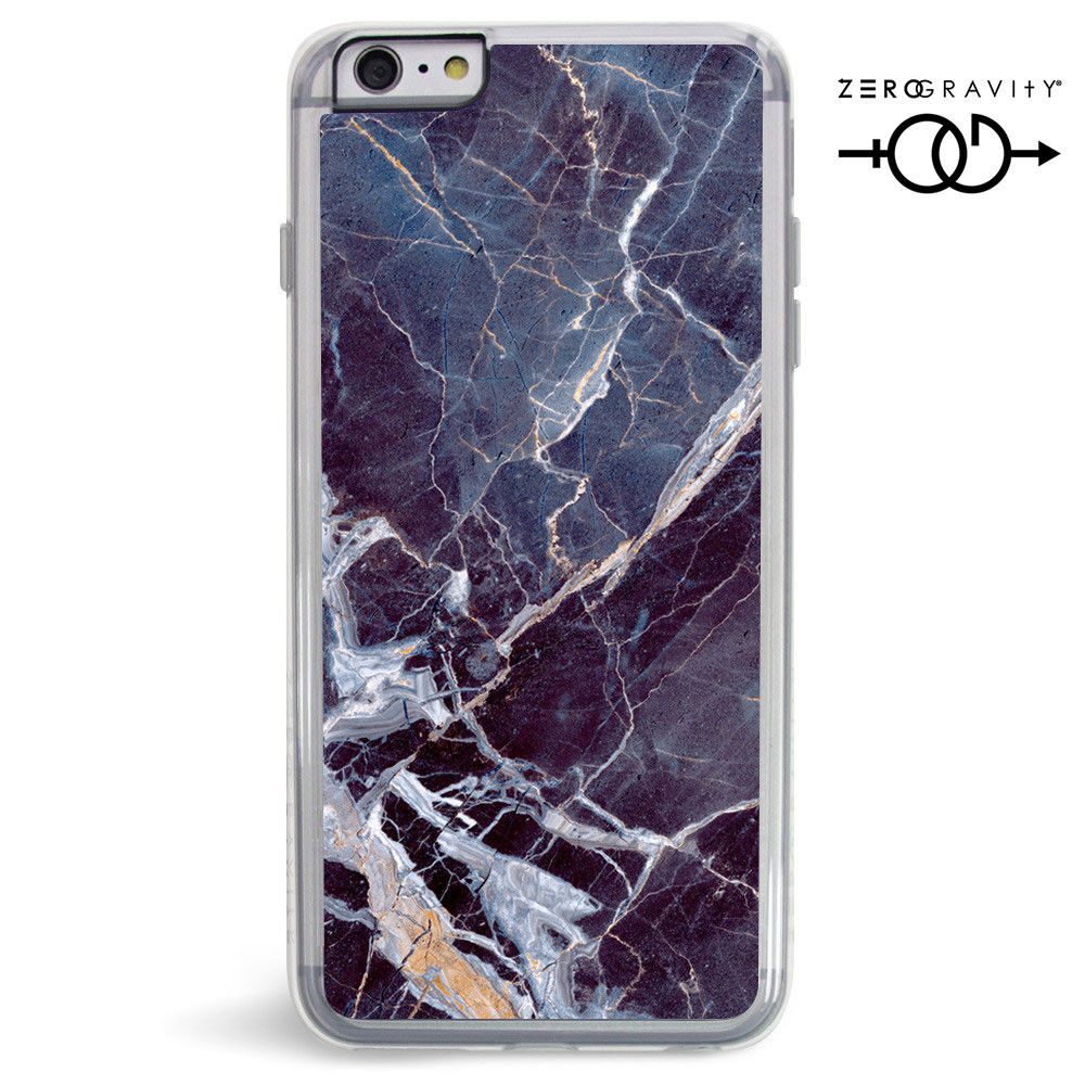 Apple iPhone 6 Plus -  Original Zero Gravity Earth Black Marble Protective Case, Black