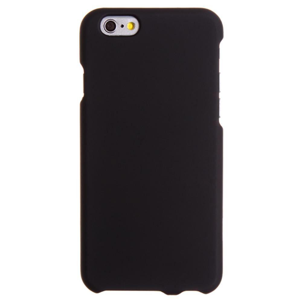Apple iPhone 6/6s - Slim Fit Hard Plastic Case, Black