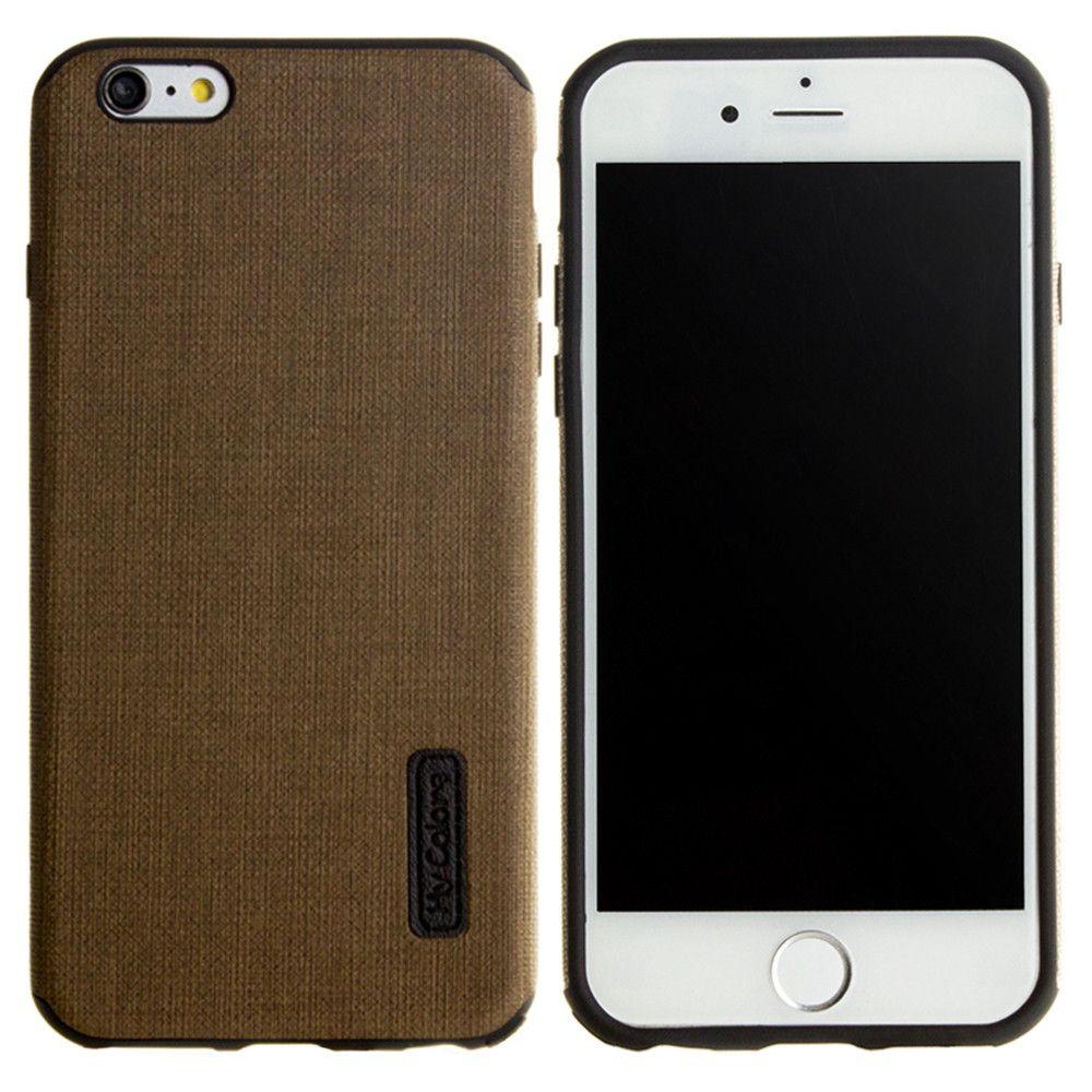 Apple iPhone 6/6s - Ultra Slim Fabric design case, Olive