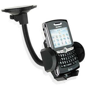 Apple iPhone 6 Plus -  Window Car Holder, Black