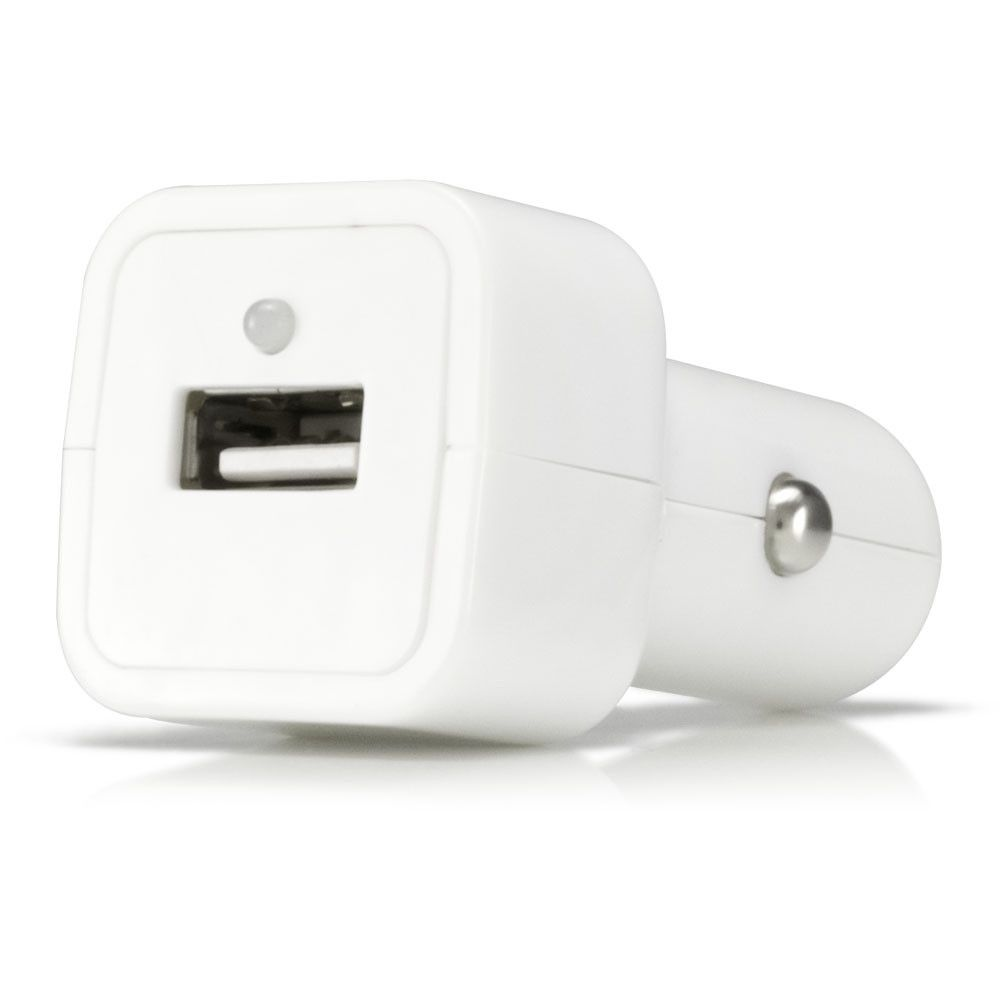 Apple iPhone 6s -  Value Series USB Vehicle Power Adapter (500 mAh), White