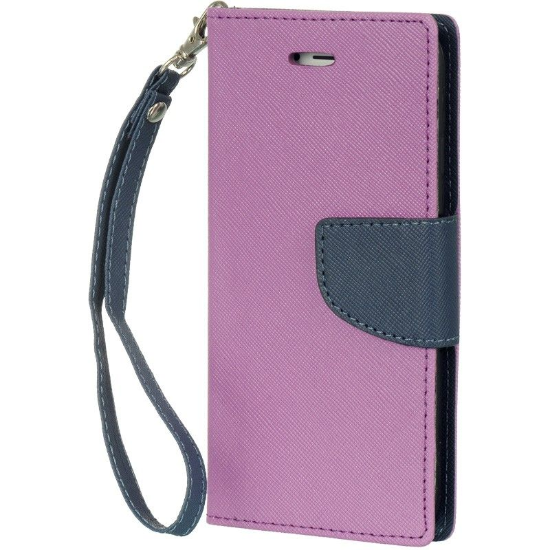 Apple iPhone 6/6s - Wallet Case, Purple/Blue