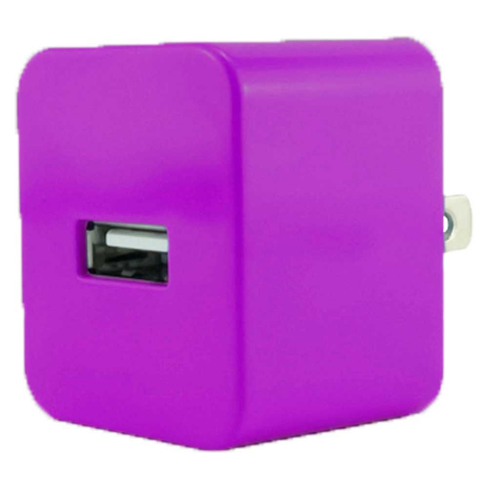 Apple iPhone 6s Plus -  Value Series .5 amp 500 mAh USB Travel Wall Charger Adapter, Purple
