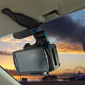 Apple iPhone 6s Plus -  Cellet Auto Visor Holder, Black