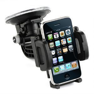 Apple iPhone 6s Plus -  Window Car Holder, Black